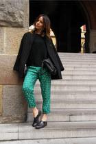 Promod coat - vivienne westwood pants