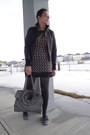 Black-yumi-dress-black-leather-tex-by-max-azria-jacket-gray-joe-fresh-style-