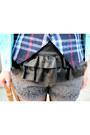 Blue-plaid-h-m-trend-vest-black-velvet-jeffrey-campbell-boots