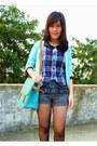 Black-velvet-jeffrey-campbell-boots-turquoise-blue-unknown-brand-bag