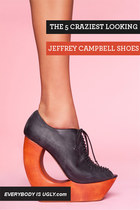 The 5 Craziest Looking Jeffrey Campbell Shoes