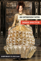 gold Inbar Spector dress