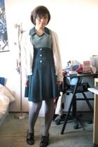 dress - H&M top - hat - naturalizer shoes