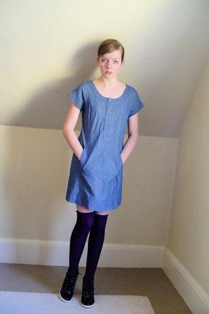 Urban Outfitters dress - H&M socks - BCBGirls shoes