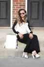 Black-lovemartini-sweater-white-leather-stylemoi-bag-black-blackfive-pants