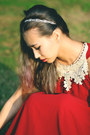 Red-mart-of-china-dress-white-kristin-perry-accessories