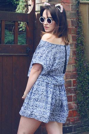 sky blue Dahlia dress