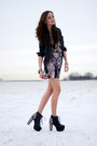 Heather-gray-love-dress-black-river-island-jacket-gold-forever-21-necklace