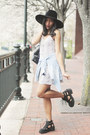 Black-thomb-cut-out-jeffrey-campbell-boots-white-short-dress-c-o-h-m-dress