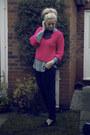 Black-primark-jeans-hot-pink-primark-jumper-sky-blue-primark-blouse