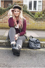 Black-cutout-topshop-boots-black-striped-new-look-jeans