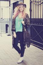 fedora TK Maxx hat - cow boy Zara boots - Primark jeans
