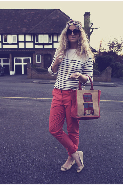 Red H Amp M Pants Navy Stripes Primark Jumpers Neutral
