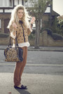 Bronze-primark-jeans-camel-polka-dot-primark-sweater