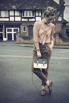 vintage shoes - Primark bag - Zara pants - Primark blouse