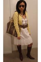 Terranova purse - L & M belt - Old Navy dress - liz claiborne shoes