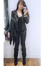 jacket - Hot Topic pants - Zara boots - Topshop accessories