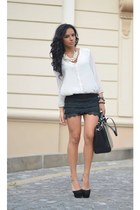 Zara shoes - Zara shirt - Zara bag - Zara necklace