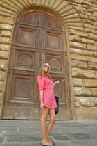 longchamp bag - Zara blouse