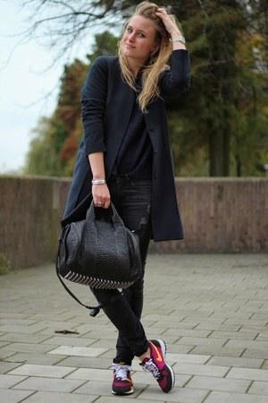 Mango jeans - COS jacket - Mango sweater - Alexander Wang bag - nike sneakers