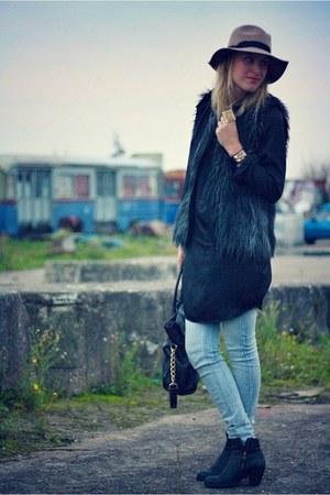black Lanvin pour H&M vest