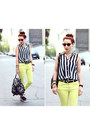 Deena-ozzy-bag-stripes-sheinside-blouse-pants-vans-sneakers