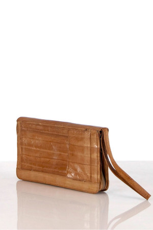 eel skin unknown brand bag