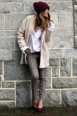 Choies coat - Zara pants