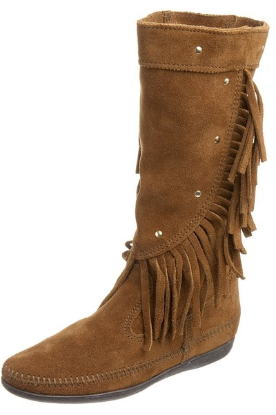 brown minnetonka boots quot beautiful quot by redhead39