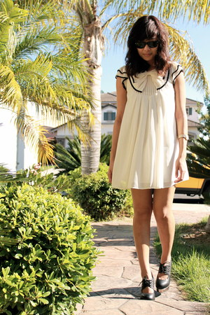 Forever21 dress - ray-bans sunglasses - raid Jeffrey Campbell wedges