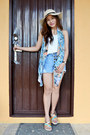Printed-style-stunner-manila-scarf-denim-my-girly-thing-fashion-shorts