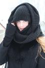 Black-vintage-coat-black-h-m-scarf-black-h-m-boots