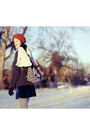 Red-beret-parkhurst-hat-black-mens-fila-boots-blue-velvet-cotton-on-dress