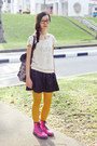 Hot-pink-lamper-1460-dr-martens-boots-mustard-coloured-uniqlo-tights