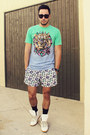 White-topman-shorts-aquamarine-life-clothing-co-shirt