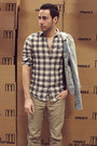 Gray-aldo-boots-light-blue-denim-guess-jacket-william-rast-for-target-shirt