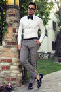 Black-tassel-oxford-zara-shoes-white-h-m-shirt-teal-bow-tie-boutaugh-tie