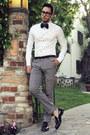 Black-tassel-oxford-zara-shoes-white-h-m-shirt-teal-bow-tie-boutaugh-tie