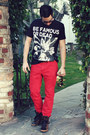 Ruby-red-h-m-jeans-black-les-benjamins-shirt