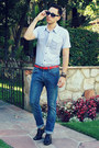 Dark-brown-aldo-shoes-blue-h-m-jeans-light-blue-twenty-one-men-shirt