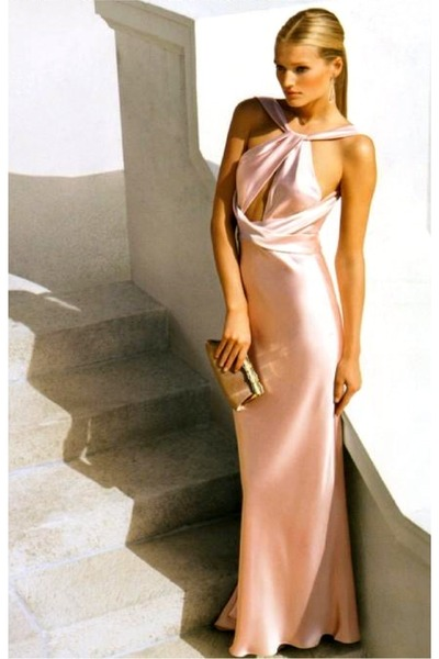 light pink Ralph Lauren dress