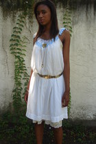 Adore Vintage dress - metallicl Adore Vintage belt