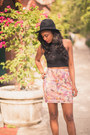 Black-filthy-magic-top-pink-vividly-skirt