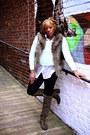 Bcbgeneration-boots-hm-h-m-sweater-hm-blouse-macys-vest