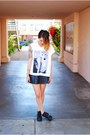 White-eleven-paris-shirt-black-jeffrey-campbell-boots