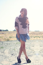 royal mint sweater - Urban Outfitters dress