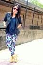 Aquamarine-colorful-generic-brand-leggings