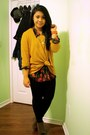 Mustard-h-m-sweater-black-talula-leggings-gold-thrifted-necklace
