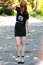 studds H&M skirt