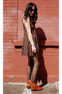 Black-vintage-from-rock-paper-vintage-dress-black-my-tights-stockings-orange